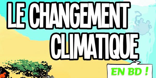 Le Changement climatique en BD de Yoram Bauman et Grady Klein, Eyrolles, 2015