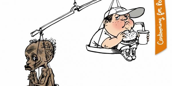 Les inégalités dans la balance, 60 dessins de presse, Gallimard, 2018